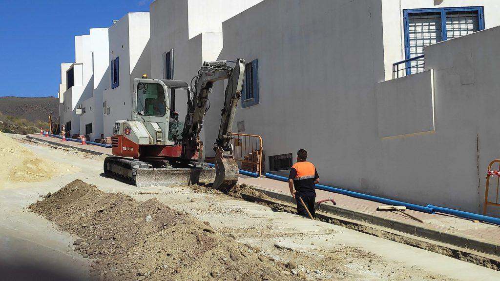 Excavación de zanja