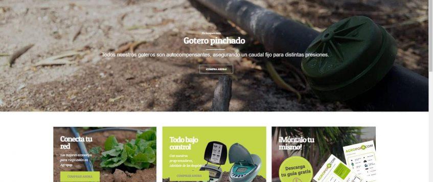 Agropop, la tienda online de Riegos Agrícolas