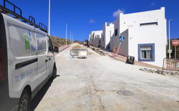 Obras de renovación de redes de abastecimiento en Los Albaricoques y La Isleta del Moro